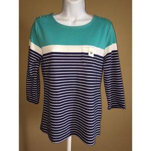 Karen Scott Sport size Small top